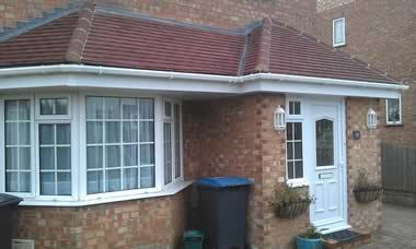 how to build a porch roof uk